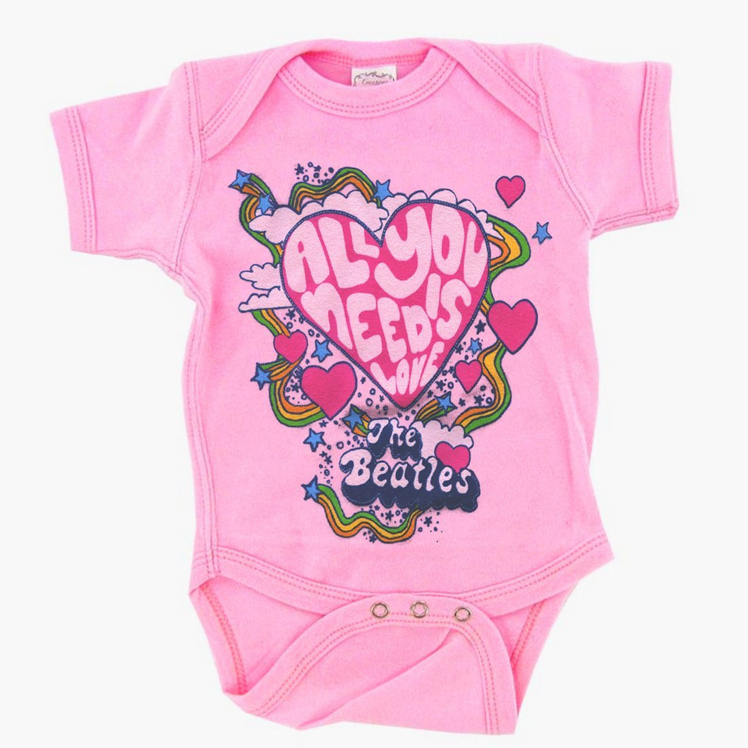 The Beatles | Need Love Onesie - A&M Executive Services LLC
