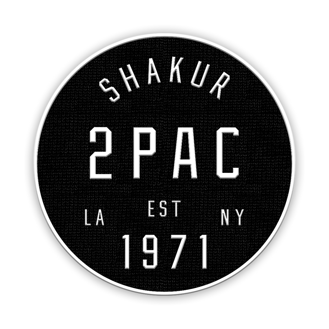 Tupac Shakur | Coast To Coast Patch - A&M Executive Services LLC