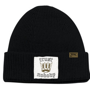 Tupac Shakur | Trust  Knit Beanie - A&M Executive Services LLC