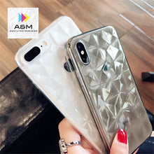 Load image into Gallery viewer, Black Diamond Texture iPhone Case - A&M Executive Services LLC