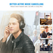 Load image into Gallery viewer, Bluedio T6S Bluetooth Headphones Active Noise Cancelling Wireless Headset For Phones And Music With Voice Control - A&M Executive Services LLC