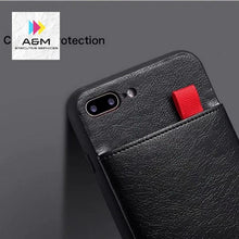 Load image into Gallery viewer, Haissky Leather Wallet Phone Case For iPhone X 6 6s 7 8 Plus Case Luxury Pull Type Card Slots Back Cover For iPhone X 10 8 Plus - A&M Executive Services LLC