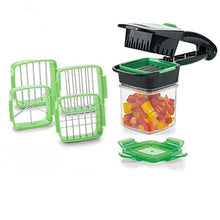 Load image into Gallery viewer, Magic Slicer Nicer Chopper Dicer Quick Set 5 In 1 Vegetables Fruits Cutter Food Multi-Function Salad Onion Vegetable Cutter - A&M Executive Services LLC
