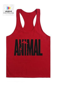 Animal Stringers Mens Tank Tops Sleeveless Shirt,tanktops Bodybuilding and Fitness Men's Singlets workout Clothes - A&M Executive Services LLC