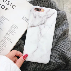 Classic White Marble iPhone Case - A&M Executive Services LLC