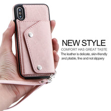 Load image into Gallery viewer, Case For iPhone XS Max XR 7 8 Plus Case Wallet Flip Cover Card Leather Phone Case Back Fundas For iPhone 6 6s Plus X 10 - A&M Executive Services LLC