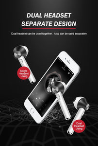D012 TWS Bluetooth Earphones Wireless Bluetooth 4.2 Earbuds Touch control Headphones for IPhone Xiaomi Android Phone PK I8 I9 I7 - A&M Executive Services LLC