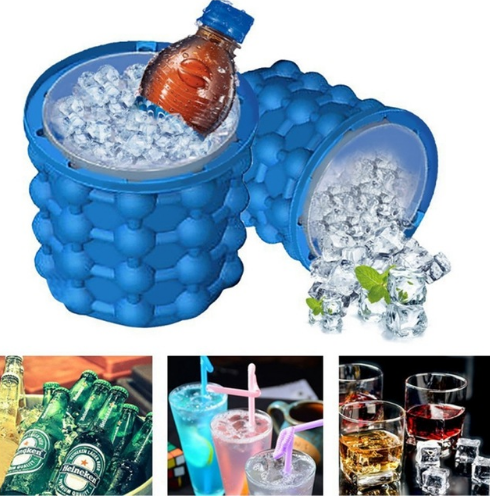Ice Cube Maker Genie The Revolutionary Space Saving Ice Cube Maker  Ice Genie Kitchen Tools - A&M Executive Services LLC