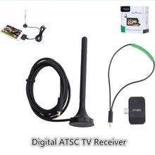 Load image into Gallery viewer, Digital Analog Micro USB OTG Terrestrial ATSC TV Tuner Receiver Watch OTA Live Channel TV On Android Phone / Pad Tablet App - A&M Executive Services LLC