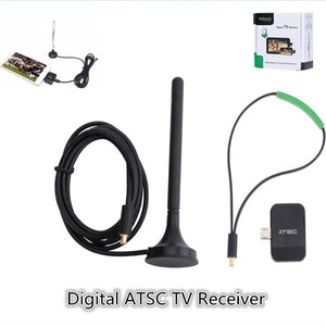 Digital Analog Micro USB OTG Terrestrial ATSC TV Tuner Receiver Watch OTA Live Channel TV On Android Phone / Pad Tablet App - A&M Executive Services LLC