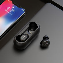 Load image into Gallery viewer, QCY qs1 TWS 5.0 Bluetooth headphone 3D stereo wireless earphone with dual microphone - A&M Executive Services LLC