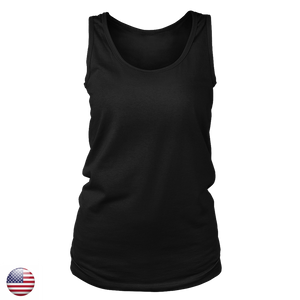 Women's District Tank- 100% Cotton- Design Included - A&M Executive Services LLC