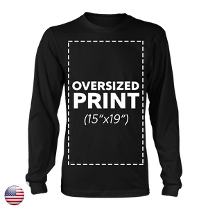 Unisex-Long Sleeve T-Shirt-100% Cotton-Design Included - A&M Executive Services LLC
