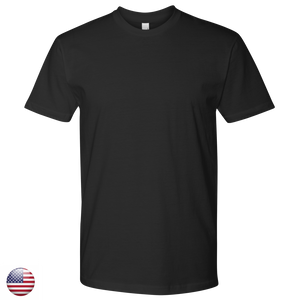 Men's Next Level Shirt-100% Cotton- Design Included - A&M Executive Services LLC