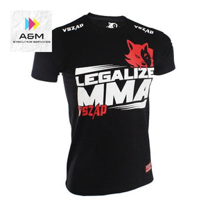 VSZAP Brazilian MMA Fighting Unisex T-shirt Muay Thai Jersey Kickboxing Tee MMA Thai Boxing Tees