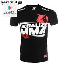 Load image into Gallery viewer, VSZAP Brazilian MMA Fighting Unisex T-shirt Muay Thai Jersey Kickboxing Tee MMA Thai Boxing Tees