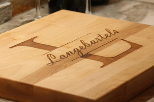 Wedding Gift Personalized Anniversary Cutting - A&M Executive Services LLC