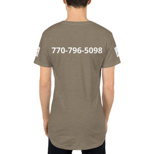 Long Body Urban Tee - A&M Executive Services LLC