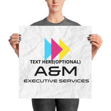 Load image into Gallery viewer, Poster-Custom - A&M Executive Services LLC