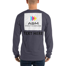 Load image into Gallery viewer, Long sleeve t-shirt - A&M Executive Services LLC