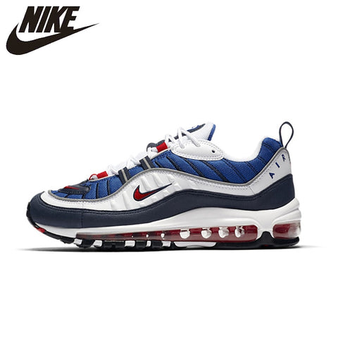 01cd1fe3b36 NIKE Air Max 98 Gundam Mens Running Shoes Mesh Breathable Lightweight  Support Sports Sneakers Outdoor For