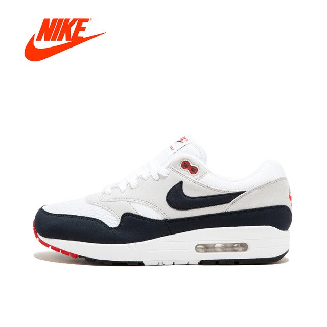 reputable site 678ce 61616 Original New Arrival Authentic Nike Air Max 1 Anniversary Mens Running  Shoes Sneakers Breathable Sport Outdoor