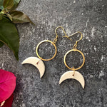 New Moon Earrings