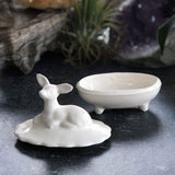 Deer Ceramic Ring Box