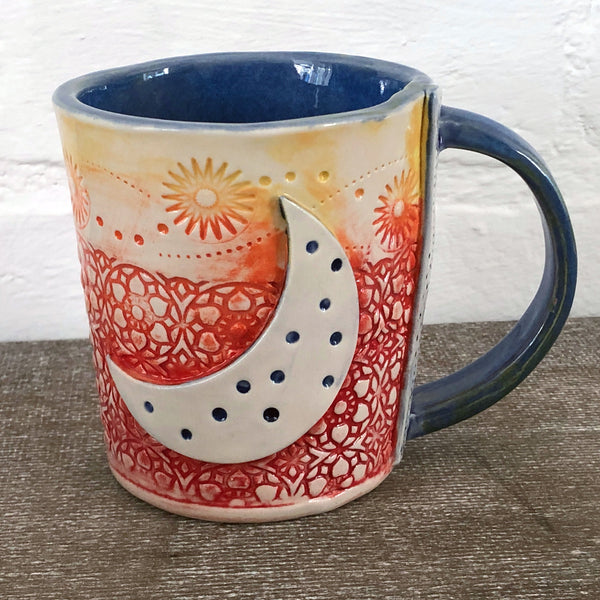 Crescent Moon Mug no.1