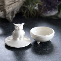 Owl Ceramic Ring Box