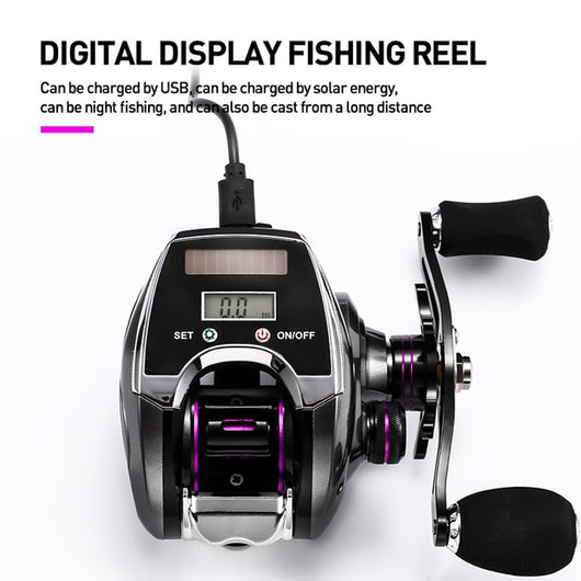 Electronic Fishing Reel