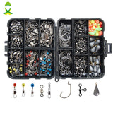 JSM 160pcs/ fishing tackle box