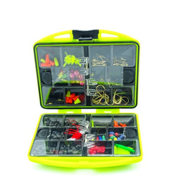 New Arrival Rock Fishing Accessories Box Surf Casting fishing tackle box Swivel Jig Hooks fishing tools set