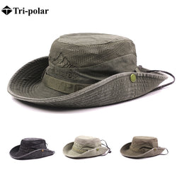 Hiking Hat Men Wide Brim Foldable Cap Hunting Hat Hiking Fishing Camping
