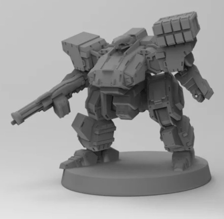 Frostbite Light Mecha