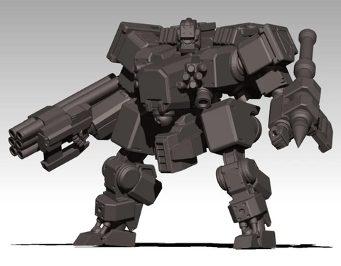 TBX-1 Missile Specialist Mecha
