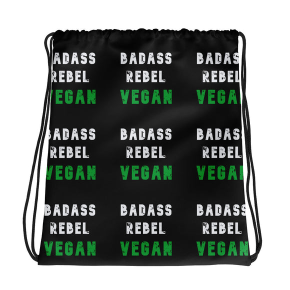 Drawstring bag: Badass Rebel Vegan