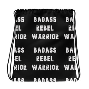 Drawstring bag: Badass Rebel Warrior