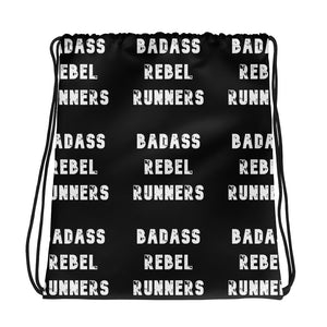 Drawstring bag: Badass Rebel Runners