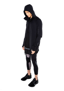 GYM LONG ZIPPER HOODIE