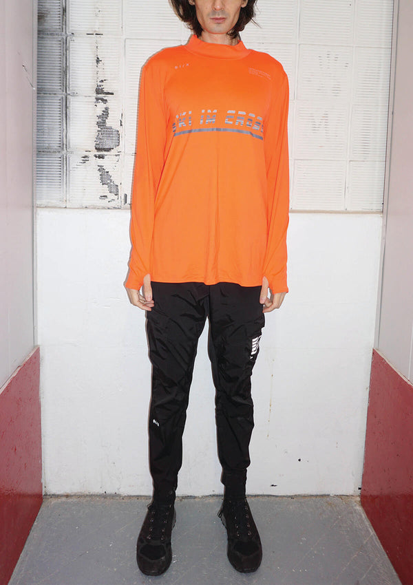 RUNNING MOCKNECK LONGSLEEVE [ORANGE]