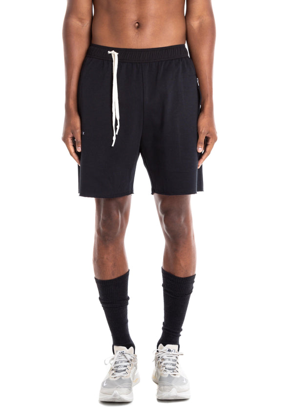 GYM JOGGING SHORTS: CONTRAST DRAWSTRING