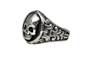 Ring Skull Barock