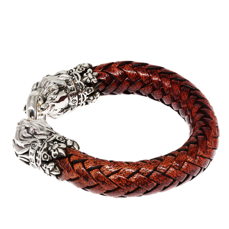 Armband - Heart of Lion Brown