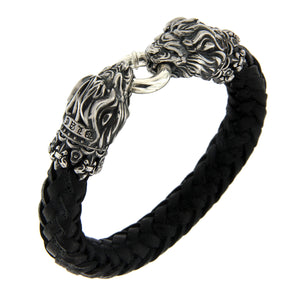 Armband - Heart of Lion Black