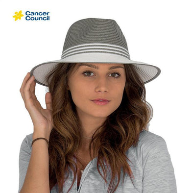 Ladies Monochrome Fedora