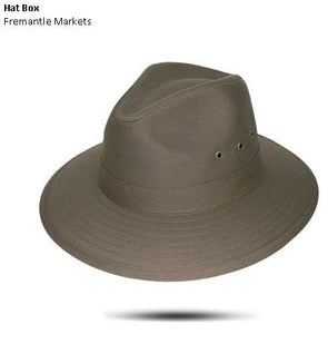 Canvas Fedora Hat