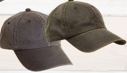 Weathered Cotton 6 Panel Cap