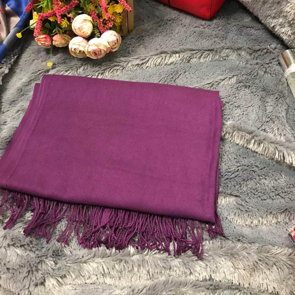 Plain Purple Scarf