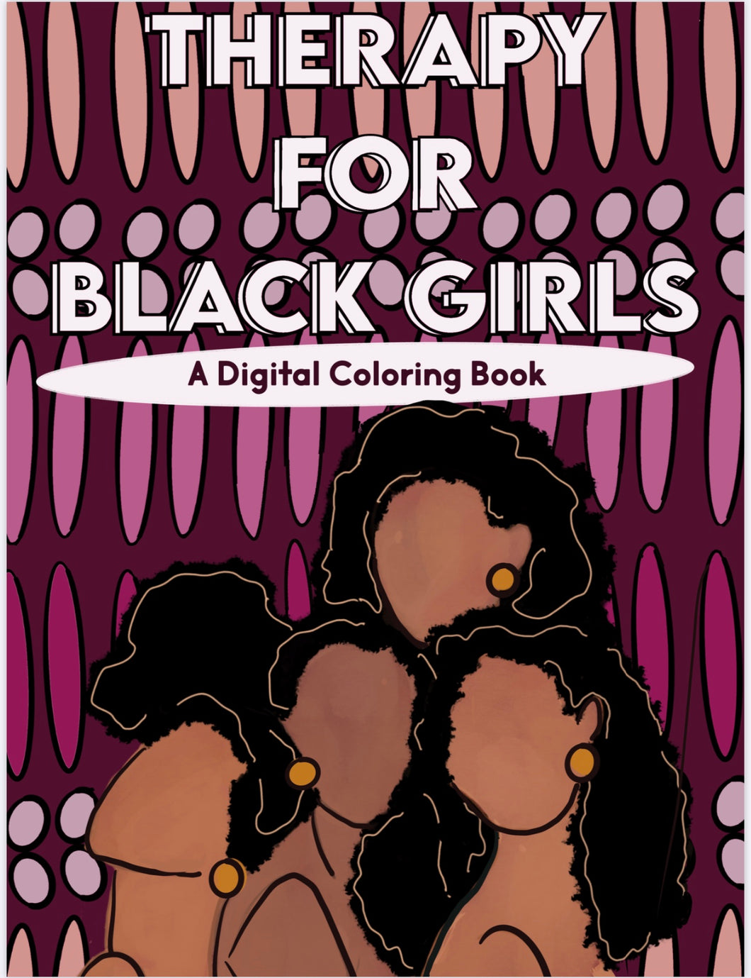 Therapy for Black Girls Digital Coloring Book